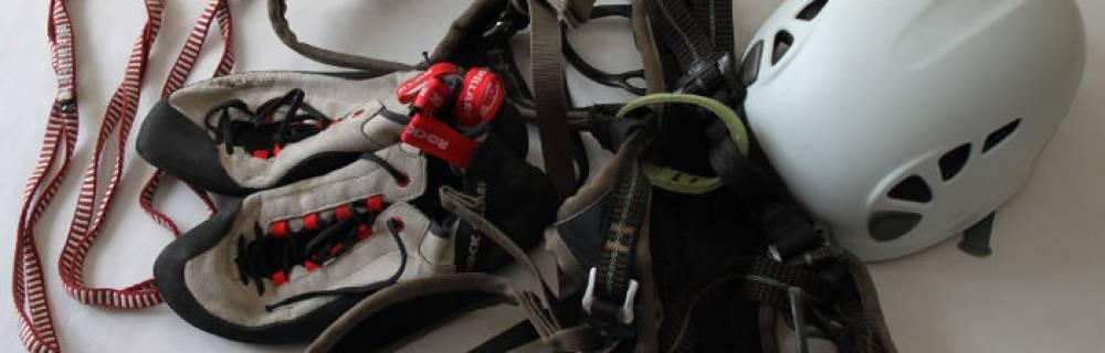 Material necesario para empezar en la escalada deportiva